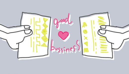 ビジネス名刺のデザイン・発注で気をつけているポイント